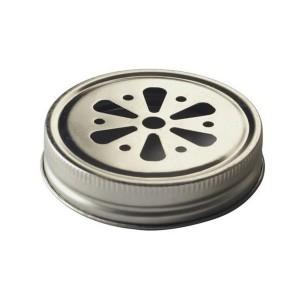 Крышка ромашка для банок Mason jar (Ball, Kilner и др.)