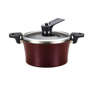 Вакуумная кастрюля для индукционной плиты Happycall Sauce Pot IH 4.6л высокая