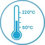 Аэрофритюрница с широкими диапазоном температуры Rawmid RMA-12