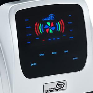 Панель управления 8 режимов блендер Rawmid Dream Modern 2