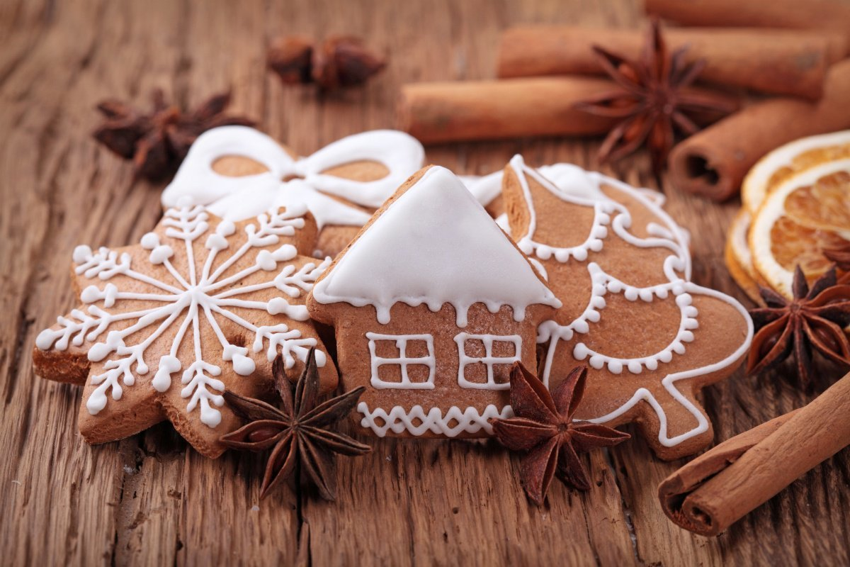 пряники имбирные новогодние рецепты с фото задача