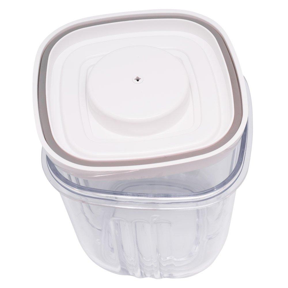 Вакуумный контейнер 2 л (оранжевый) GOCHU