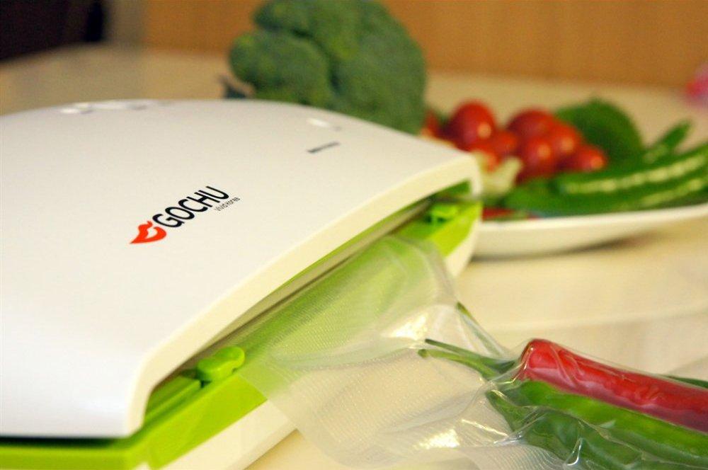 вакуумный упаковщик рыбы, мяса, овощей и фруктов Gochu VAC-470