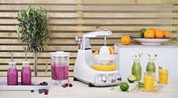 Кухонный комбайн Ankarsrum с функцией соковыжималки цитрус-пресс