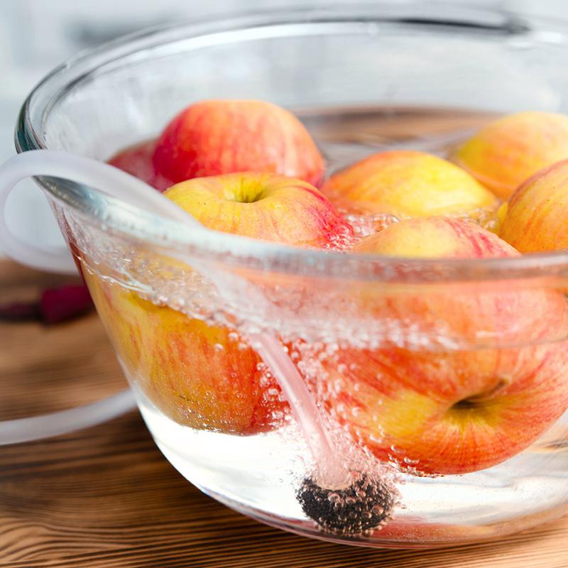озонирование продуктов овощей фруктов бытовой озонатор Rawmid Dream OD-03
