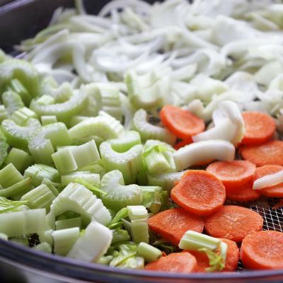Сухие овощи и грибы для бульона