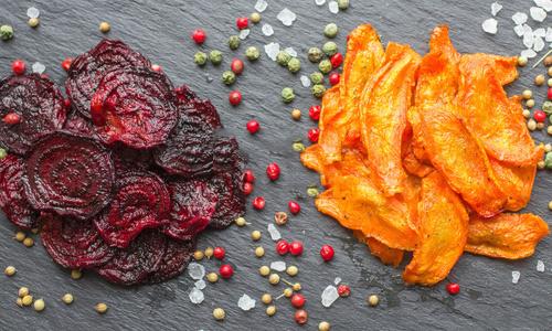 Свекольные и морковные чипсы в дегидраторе Чипсы из свеклы и моркови в сушилке Dream Vitamin