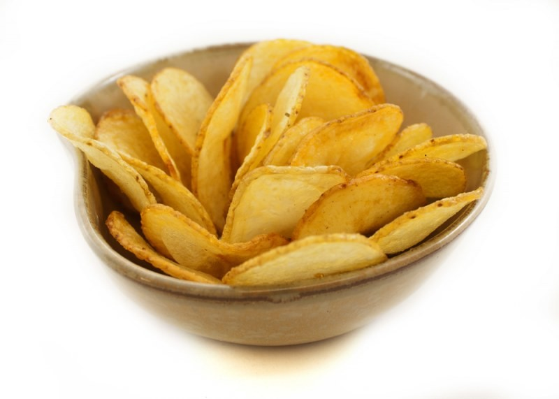 Картофель в электросушилке домашние чипсы с помощью Dream Vitamin