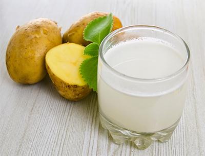 Картофельный сок - полезные свойства