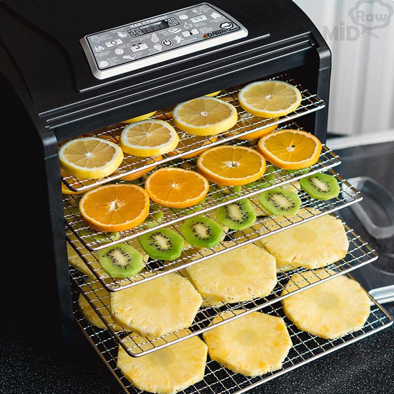 Фруктовые и овощные чипсы в дегидраторе сушилке