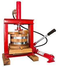 Бочка масло пресс деревянная гидравлическая UP-20