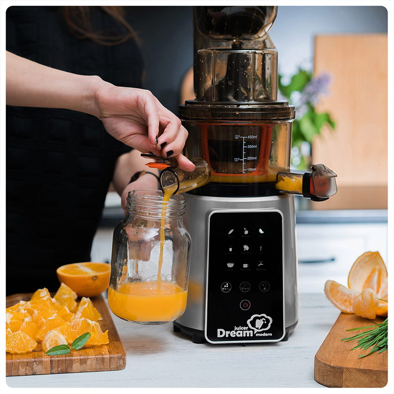 Цитрусовый сок апельсиновый сок соковыжималка RawMiD Dream Modern JDM-80
